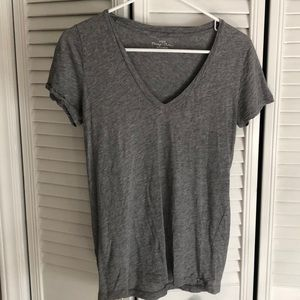 J. Crew vintage cotton v neck t-shirt